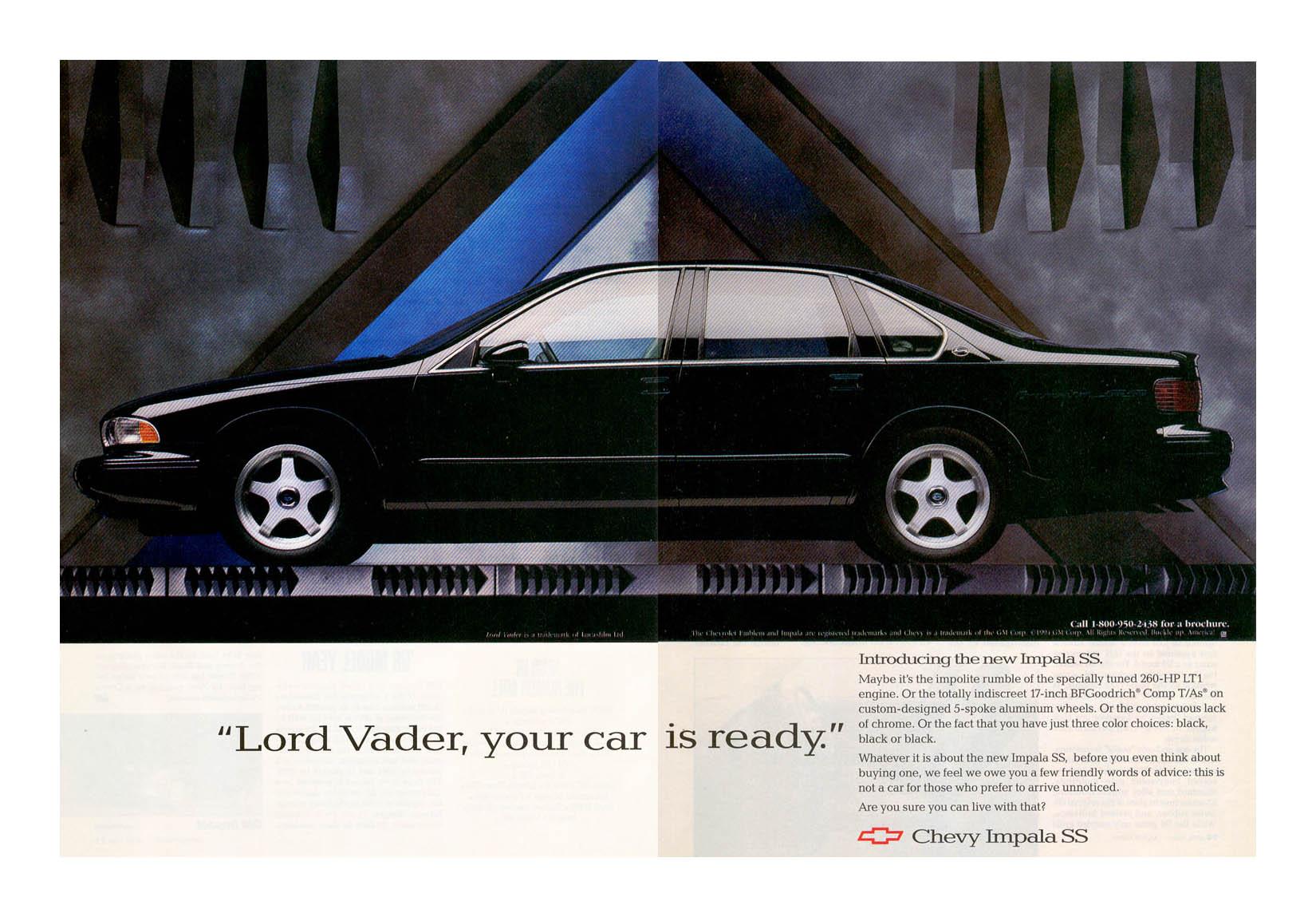 Darth Vader Driving A Car